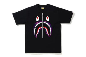 COLOR CAMO SHARK TEE