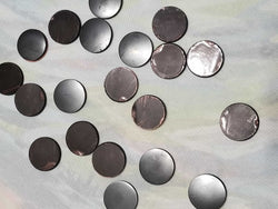 Shungite Small Cell Phone button | High Ho Gems and Crystals