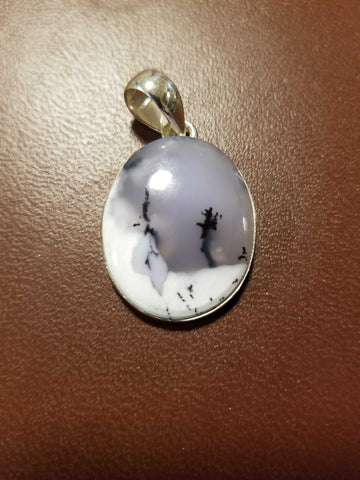 Jewelry - Dendrite Agate Pendant #1 | High Ho Gems and Crystals