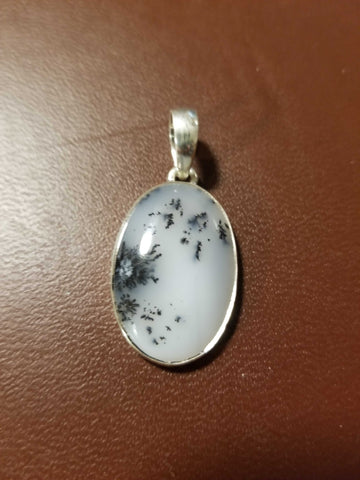 Jewelry - Dendrite Agate Pendant #2 - High Ho Gems and Crystals
