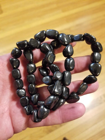 Jewelry - Bracelet Shungite | High Ho Gems and Crystals