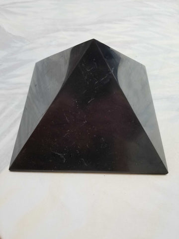 Shungite - Pyramid | High Ho Gems and Crystals