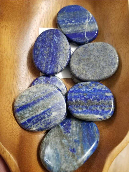 Palm Stones - Lapis Lazuli - currently special order please call | High Ho Gems and Crystals