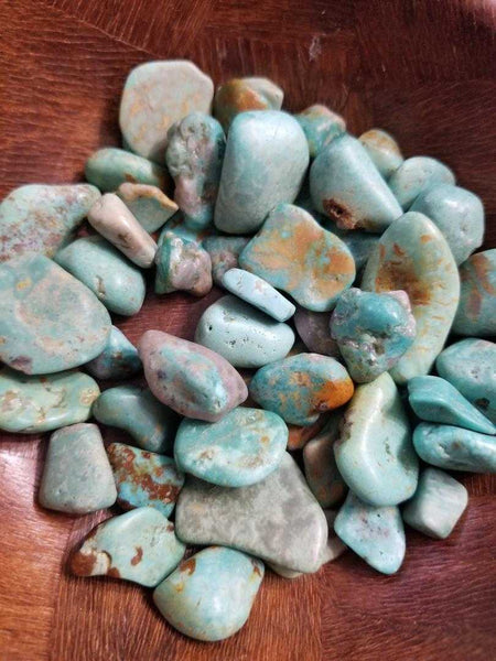 Tumbled stones - Turquoise | High Ho Gems and Crystals