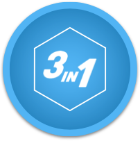 3-in-1 Icon