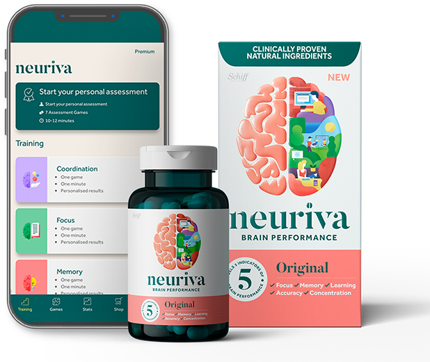 Neuriva Brain Health Supplement Research – Schiff Vitamins