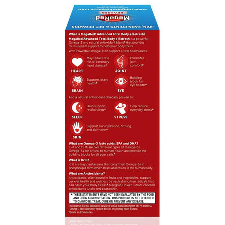 MegaRed Advanced Total Body Refresh 800 mg Softgels