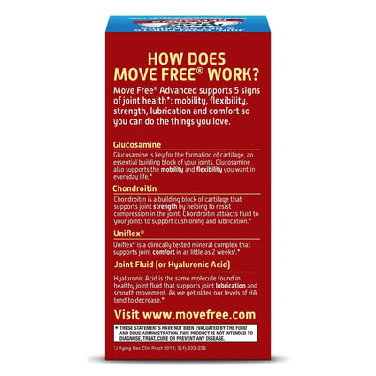 Image of Move Free Advanced Tablets with Glucosamine and Chondroitin