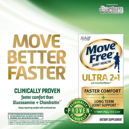 Move Free Ultra 2in1 with ComfortMax Joint Support Tablets