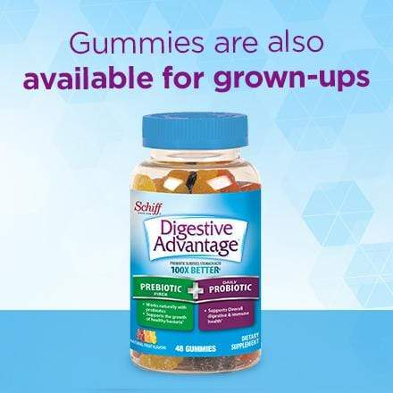 Digestive Advantage KIDS Prebiotic Fiber Plus Probiotic Gummies 65 Ct