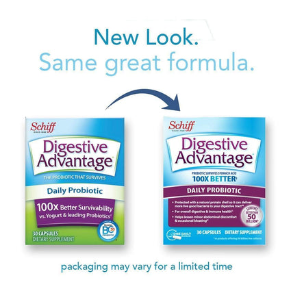 Image of Digestive Advantage Daily Probiotic Capsules