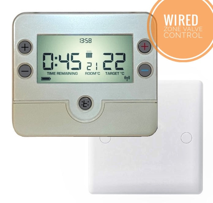 Time:o:stat 3 - Wired HMO Thermostat (+Zone Valve Control)