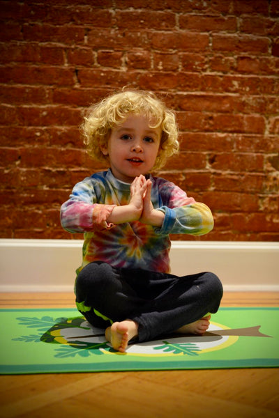 Kids Yoga Mat (Kid Size: Ages 5-10)