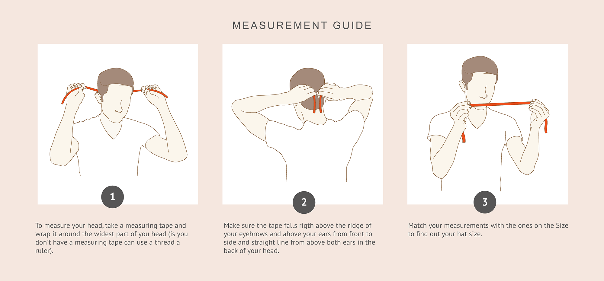 artesano hat measurement guide how to