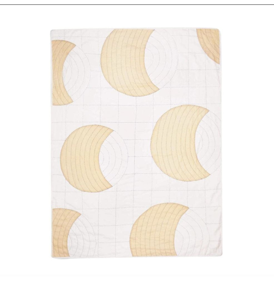 Crescent Lattice Quilt Throw - Home Goods - Anchal