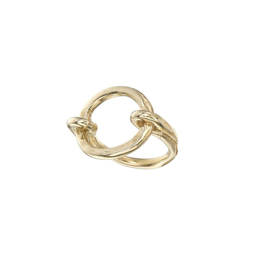 Friendship Ring Brass - Melissa de la Fuente