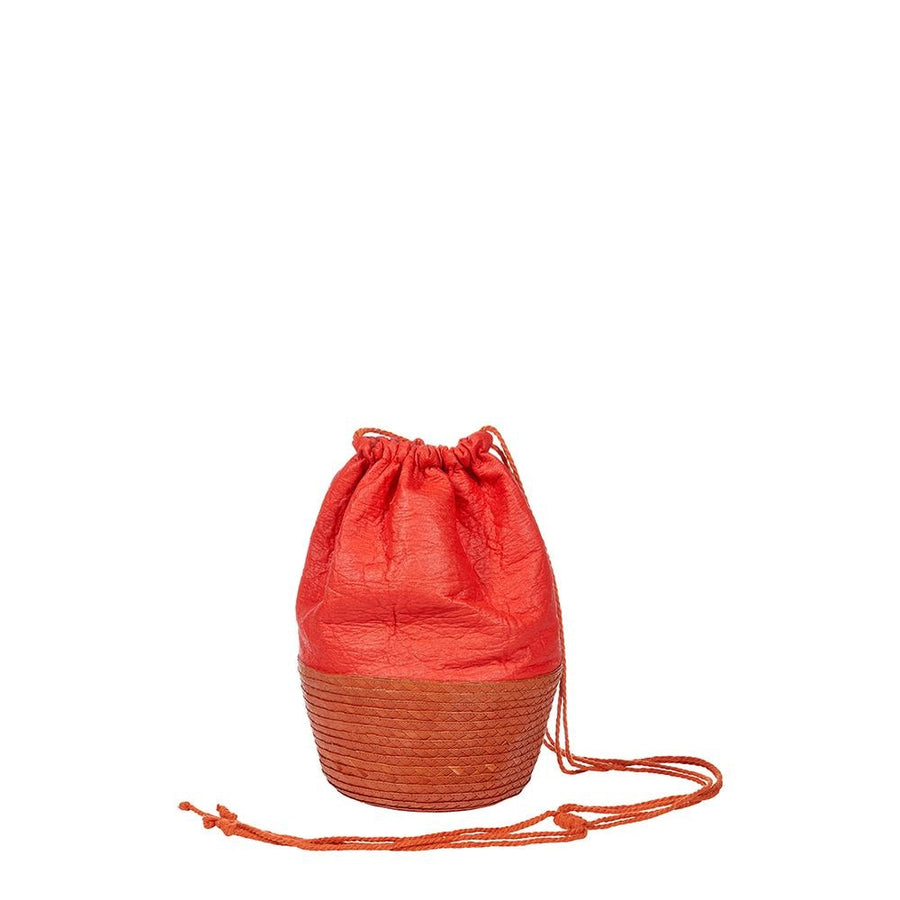 santa fe pinatex - straw and pinatex tote bag - artesano