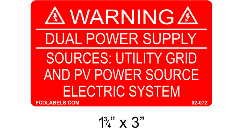 "1.75"" x 3"" 