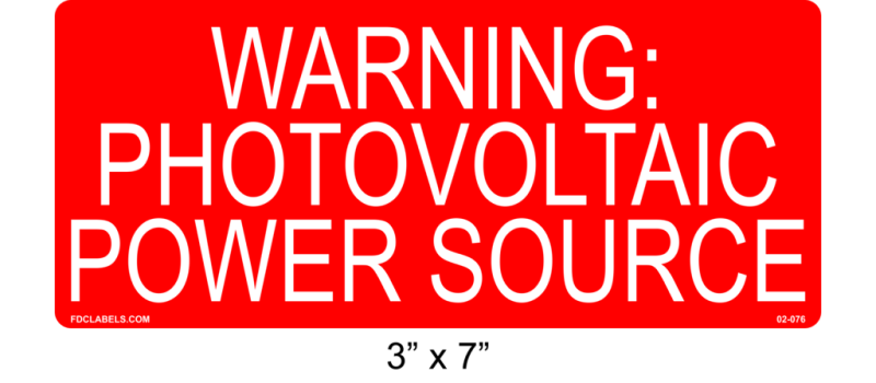 "3"" x 7"" 
