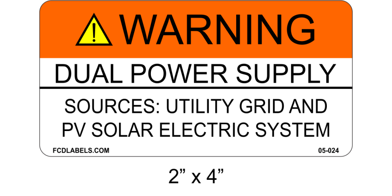 "ANSI 2"" x 4"" 