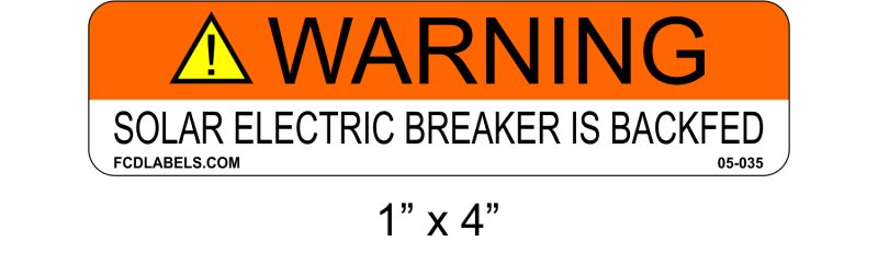 "ANSI 1"" x 4"" 