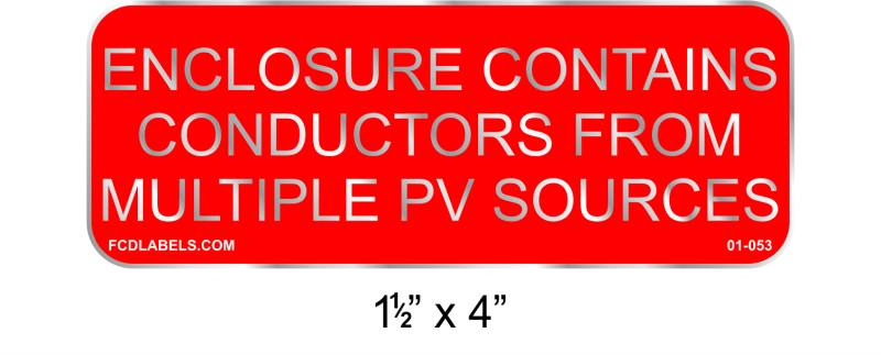 "1.5"" x 4"" 