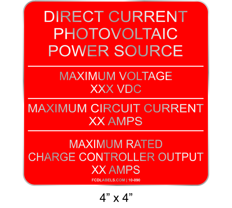 "4"" x 4"" 