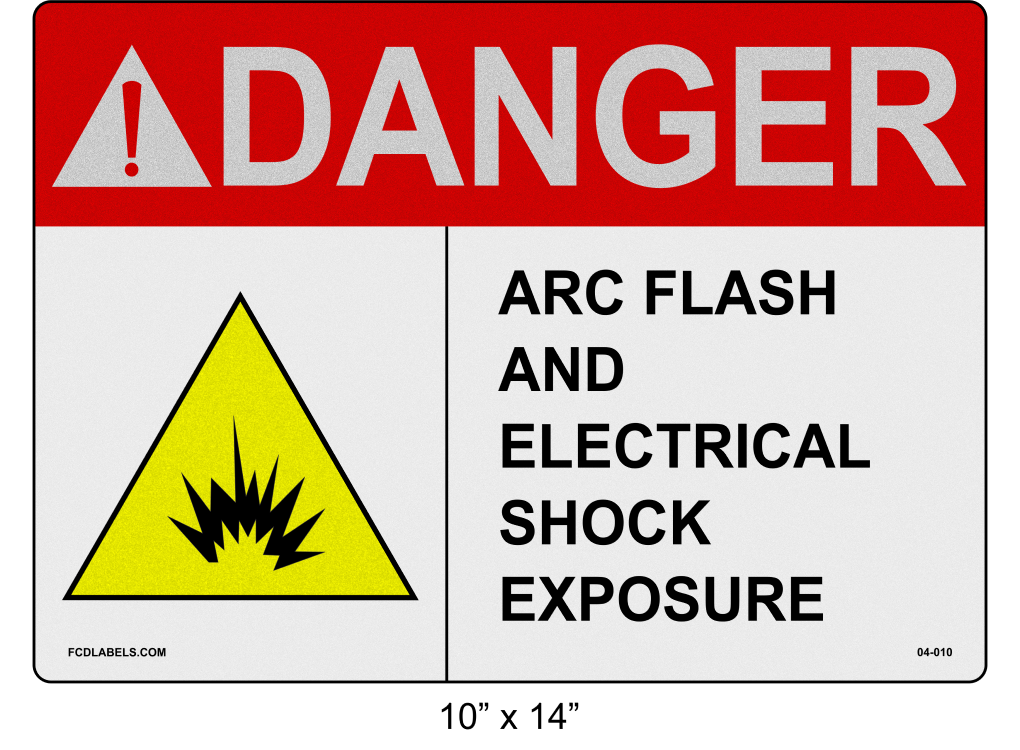 "Reflective 10"" x 14"" 