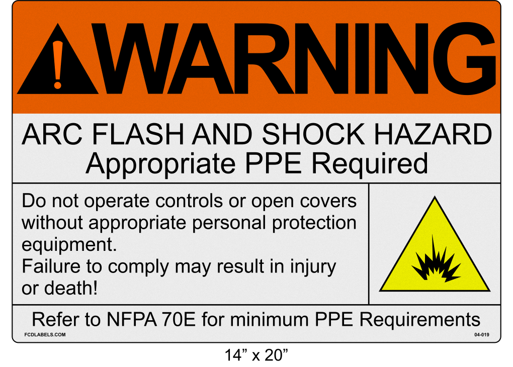 "Reflective 14"" x 20"" 