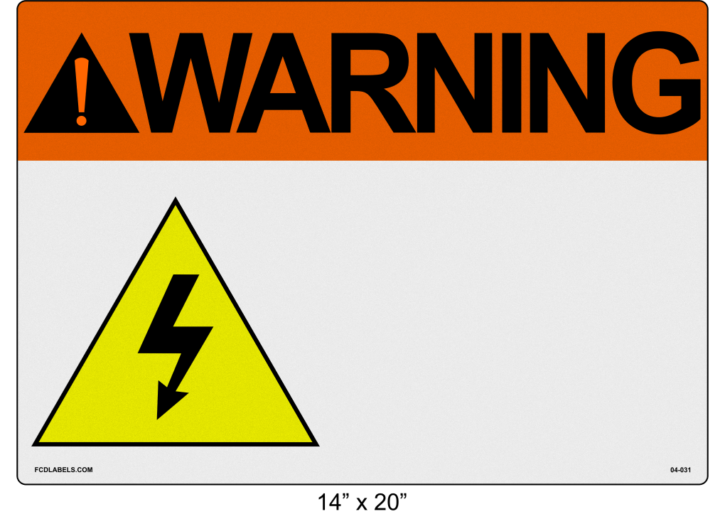 "Custom Reflective 14"" x 20"" 