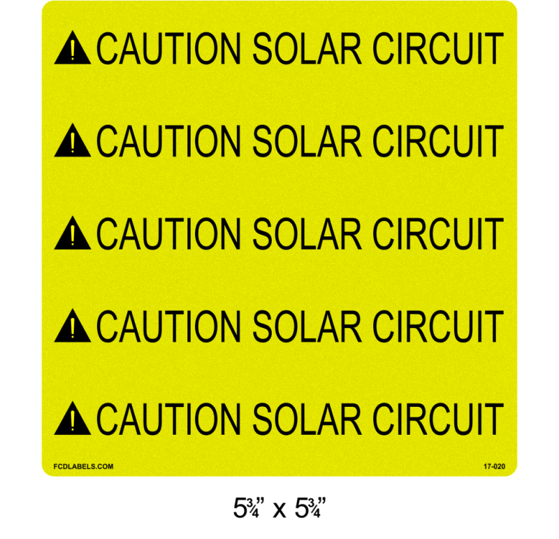 "5.75"" x 5.75"" Reflective 