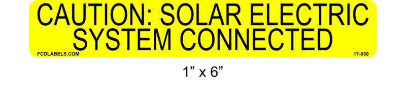 "Yellow & Black 1"" x 4"" 