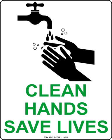 COVID-19 | CLEAN HANDS SAVE LIVES