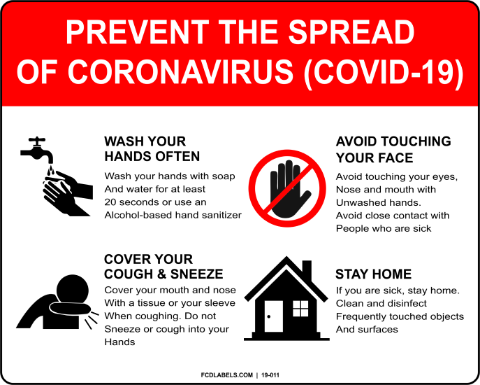 COVID-19 | PREVENT THE SPREAD OF CORONAVIRUS