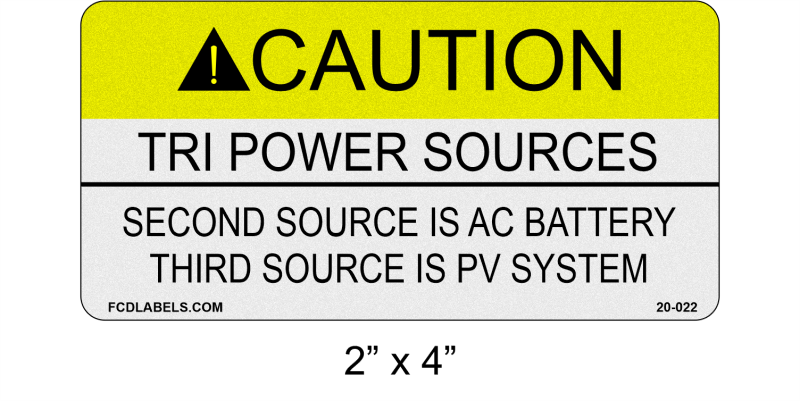 "Reflective 2"" x 4"" 