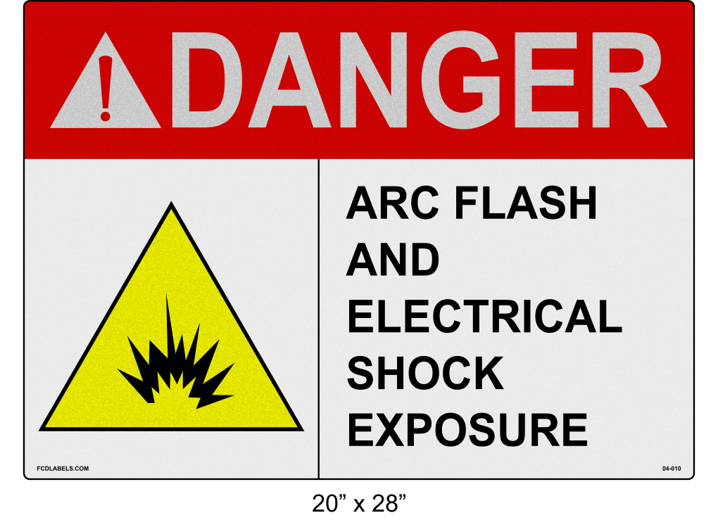 "Reflective 20"" x 28"" 