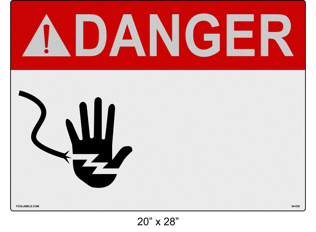 "Custom Reflective 20"" x 28"" 