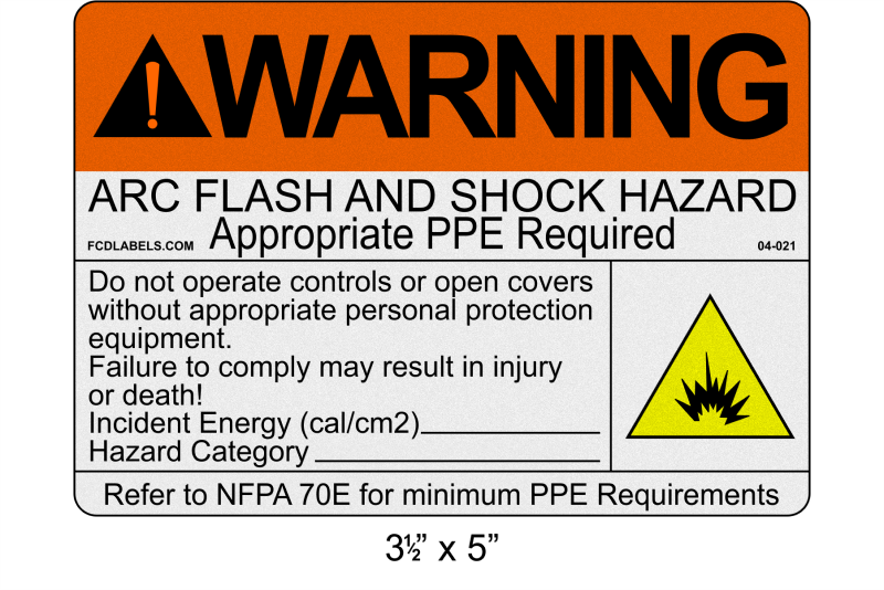 "Reflective 3.5"" x 5"" 