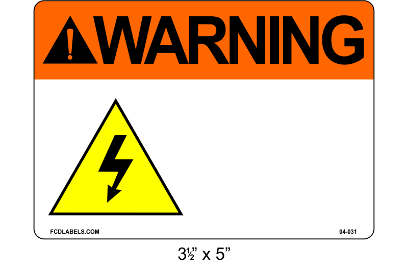 "Custom 3.5"" x 5"" 