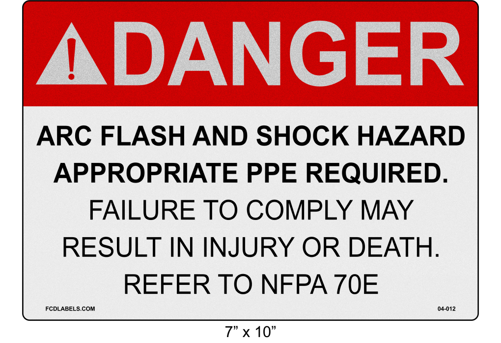 "Reflective 7"" x 10"" 