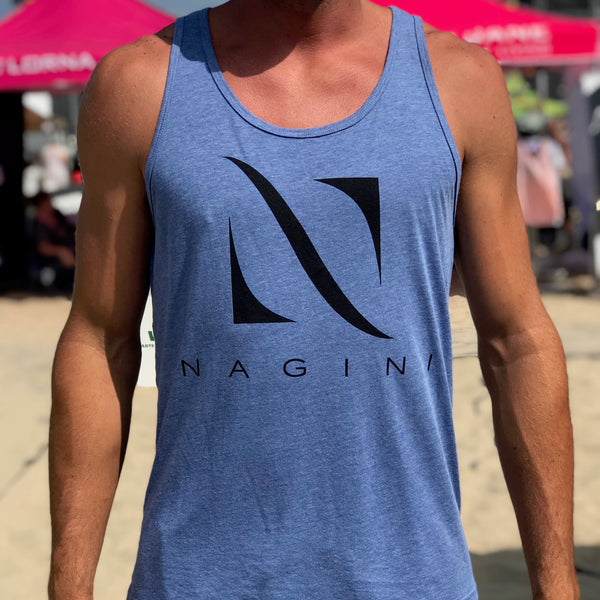 Heather Blue Unisex Tank - NAGINI