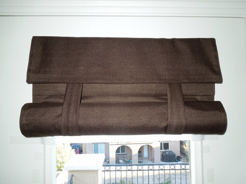 Brown Blackout French Door Curtain   Dani Designs Co