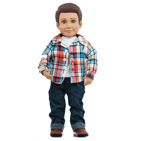 Mason Action Doll - Case Pack (4 dolls)
