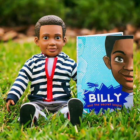 Billy Action Doll & Story Set - Case Pack (4 sets)