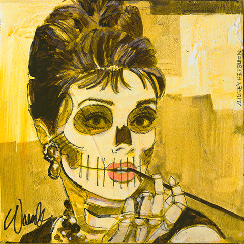 Bella Muertes - Old Hollywood - Audrey Hepburn