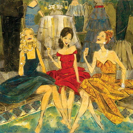 "Special - Women and Wine® Poolside 3 Edition 10""x10"""