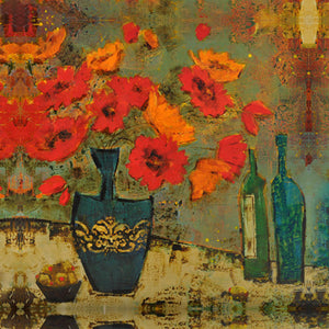 "Special - Poppies - ""Poppies and Olives"" Edition 10""x10"""