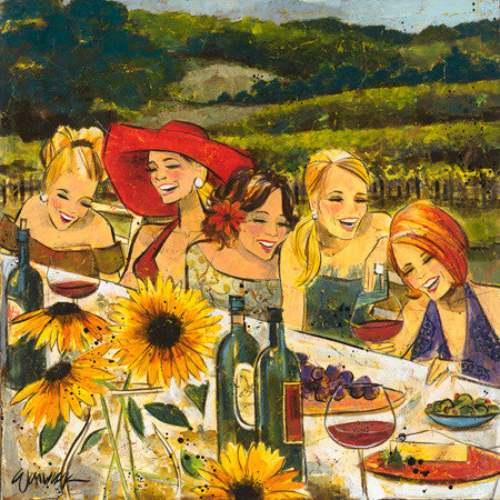 Special - Women and Wine® The Vineyard Edition 10x10""