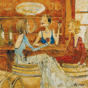 "Special - Women and Wine® Wine Tasting Edition 15"" x 15"""