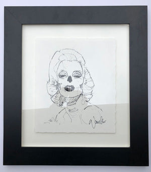 Bella Muertes - Marilyn Sketch